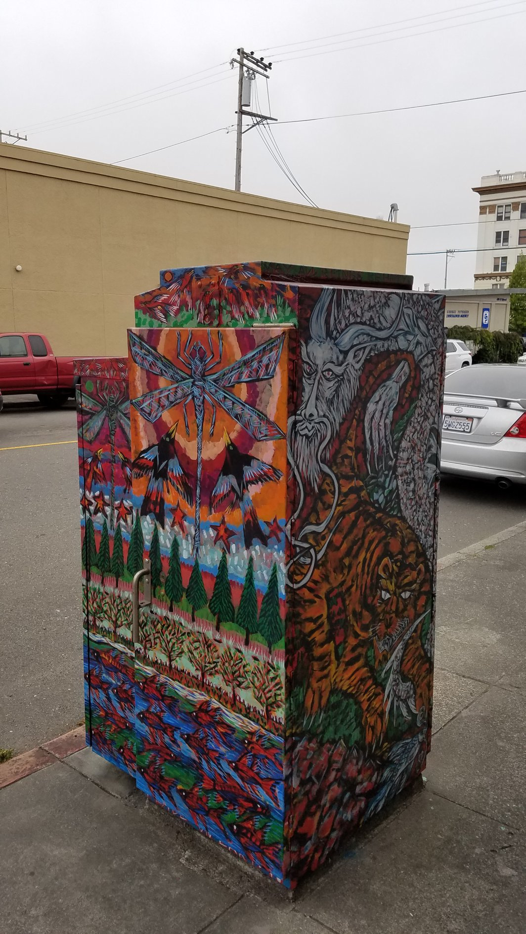 City of Eureka Utility Box Art